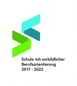 Siegel Schule mit vorbildlicher Berufsorientierung 2017- 2022